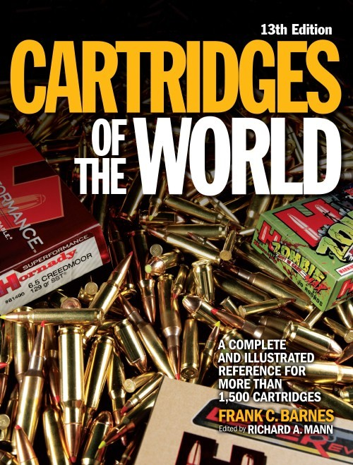 Cartridges of the world - 13th edition Frank Barnes, editied by Richard Mann