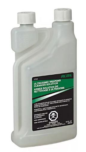 Ultrasonic Non-Toxic Weapons Cleaner